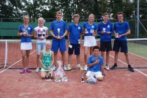 Prijswinnaars TCW toernooi TC de Leeuwerik