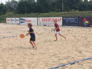 Beach Tennis voor competitiespelers Groen en Geel
