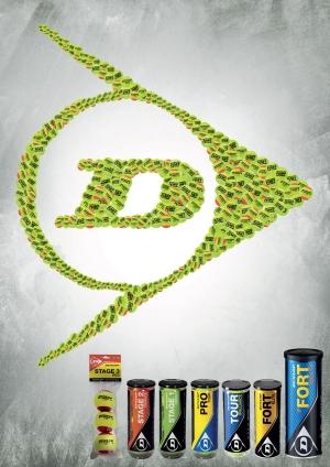 Dunlop: sponsor van onze tennisballen